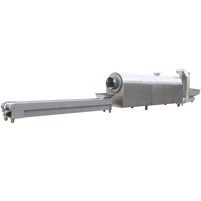 DCCL 7-40 電磁中小型混炒生產線(4米鍋)