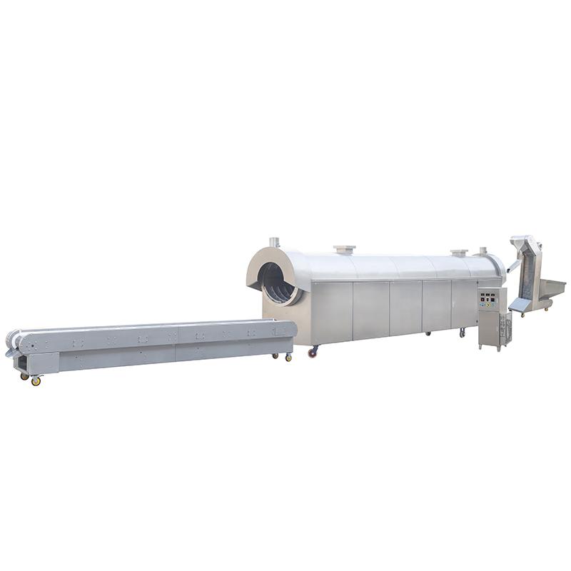 DCLS7-80(8米鍋)電磁烘炒生產線